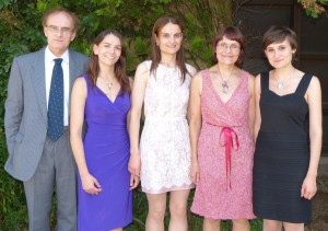 My family at Familienfest 2012