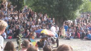 Karaoke in Mauerpark