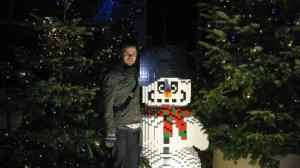 LSB and Lego snowman