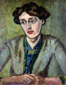 Roger Fry's painting of Virginia Woolf Image source: http://en.wikipedia.org/wiki/File:Roger_Fry_-_Virginia_Woolf.jpg