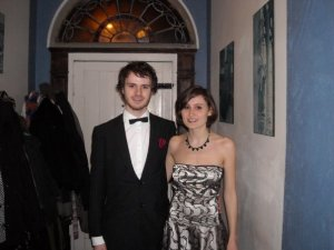LSB and I before a college ball