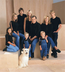 The Camdens of 7th Heaven. Image source: Wiki Media