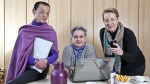 Bloggers in BILD! source: http://www.bild.de/regional/berlin/berlin-aktuell/drei-seniorinnen-haben-einen-internet-blog-34082682.bild.html
