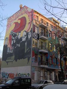 A house in Friedrichshain (not the one we went to) source: Wikipdia