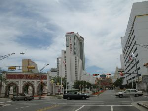 """20060627 Trump Taj Mahal from Pacific Avenue"" by Original uploader was TonyTheTiger at en.wikipedia(Original text : en:User:TonyTheTiger) - Transferred from en.wikipedia(Original text : own picture). Licensed under Creative Commons Attribution-Share Alike 3.0 via Source: Wikimedia Commons http://commons.wikimedia.org/wiki/File:20060627_Trump_Taj_Mahal_from_Pacific_Avenue.jpg#mediaviewer/File:20060627_Trump_Taj_Mahal_from_Pacific_Avenue.jpg User: TonyTheTiger"
