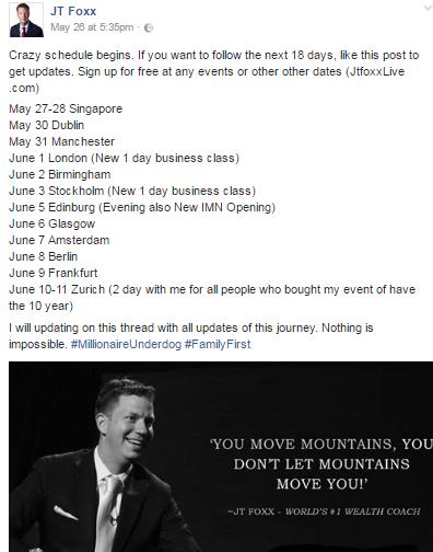foxx schedule