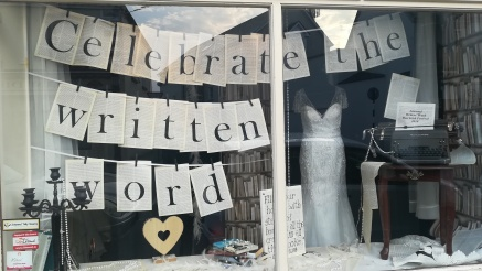 This bridal shop got into the literary spirit